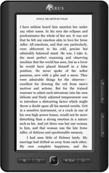 Icarus M703BK-BURD e-book reader