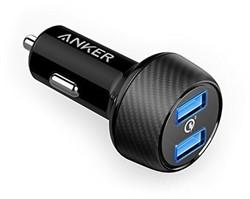 Anker PowerDrive Speed 2 Auto Zwart oplader voor mobiele apparatuur