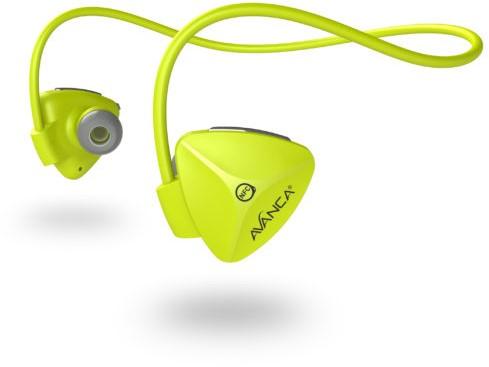 Avanca D1 Sports In-ear Stereofonisch Draadloos Geel mobielehoofdtelefoon