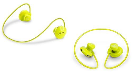 Avanca S1 In-ear Stereofonisch Draadloos Geel mobielehoofdtelefoon