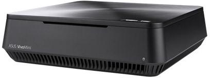 ASUS VivoMini VM65-G094Z 2.4GHz i3-7100U 2L  maat pc Grijs-2