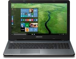 "MEDION AKOYA P6667-i5-1256F8 2.3GHz i5-6200U 15.6"" 1920 x 1080Pixels Antraciet Notebook"