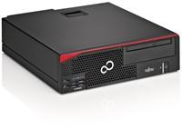 Fujitsu ESPRIMO D556 3GHz i5-7400 Desktop Zwart, Rood-2