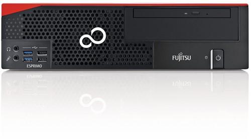 Fujitsu ESPRIMO D556/2/E85+ 3.9GHz i3-7100 SFF Zwart, Rood PC-2