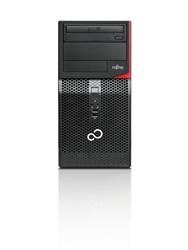 Fujitsu ESPRIMO P556/2/E85+ 3GHz i5-7400 Desktop Zwart, Rood