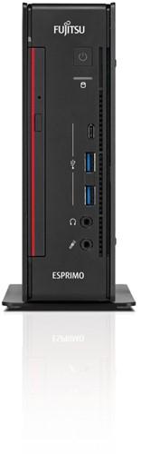 Fujitsu ESPRIMO Q957 2.7GHz i5-7500T 2L  maat pc Zwart, Rood-3