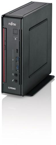 Fujitsu ESPRIMO Q957 2.7GHz i5-7500T 2L  maat pc Zwart, Rood-1