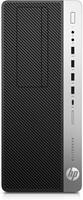 HP EliteDesk 800 G3 Tower 3.4GHz i5-7500 Toren Zwart, Zilver PC
