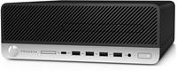 HP ProDesk 600 G3 SFF 3.4GHz i5-7500 Kleine vormfactor Zwart, Zilver PC-3
