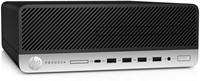 HP ProDesk 600 G3 SFF 3.4GHz i5-7500 Kleine vormfactor Zwart, Zilver PC-2