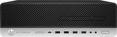 HP EliteDesk 800 G3 3.4GHz i5-7500 Kleine vormfactor Zwart, Zilver PC-1