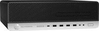HP EliteDesk 800 G3 3.4GHz i5-7500 Kleine vormfactor Zwart, Zilver PC-2