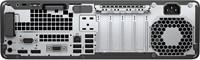 HP EliteDesk 800 G3 3.4GHz i5-7500 Kleine vormfactor Zwart, Zilver PC-3