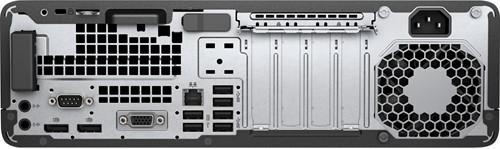 HP EliteDesk 800 G3 3.4GHz i5-7500 Kleine vormfactor Zwart, Zilver PC