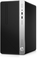 HP ProDesk 400 G4 MT 3.4GHz i5-7500 Micro Tower Zwart, Zilver
