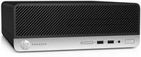 HP ProDesk 400 G4 SFF 3.9GHz i3-7100 Zwart, Zilver-3