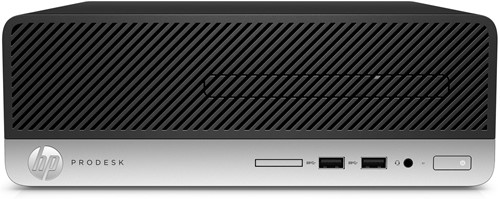 HP ProDesk 400 G4 SFF 3.9GHz i3-7100 Zwart, Zilver-1