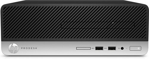 HP ProDesk 400 G4 3.4GHz i3-7100T SFF Zwart, Zilver PC