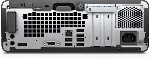 HP ProDesk 400 G4 3.4GHz i3-7100T SFF Zwart, Zilver PC-2