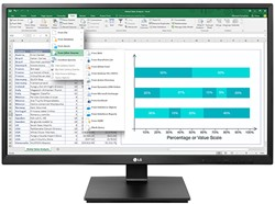"LG 27BK550Y-B 27"" Full HD LED Zwart computer monitor"