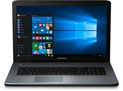 "MEDION AKOYA P7645-i7-256 2.70GHz i7-7500U 17.3"" 1920 x 1080Pixels Antraciet Notebook"