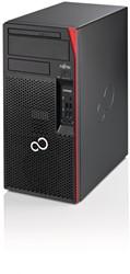 Fujitsu ESPRIMO P957/power 3.6GHz i7-7700 Toren Zwart, Rood PC