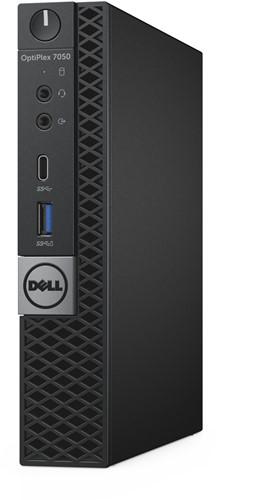 DELL OptiPlex 7050 2.70GHz i5-7500T 1.2L  maat pc Zwart Mini PC-3