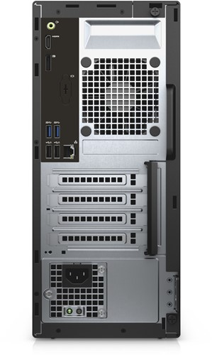 DELL OptiPlex 3050 3.4GHz i5-7500 Mini Toren Zwart PC-3