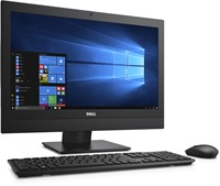 "DELL OptiPlex 5250 3.9GHz i3-7100 21.5"" 1920 x 1080Pixels Zwart Alles-in-één-pc-2"