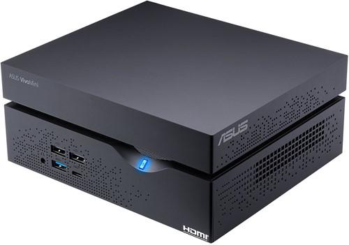 ASUS VivoMini VC66R-B002Z 3.9GHz i3-7100 2L  maat pc Zwart-1
