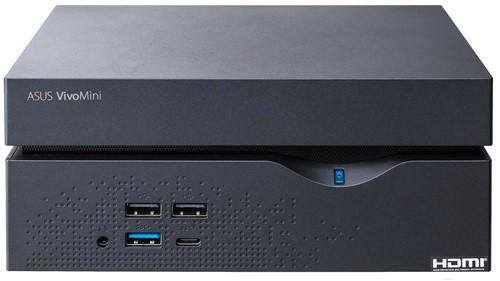 ASUS VivoMini VC66R-B002Z 3.9GHz i3-7100 2L  maat pc Zwart-2