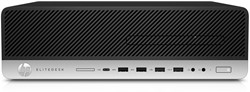 HP EliteDesk 800 G3 SFF 3.4GHz i5-7500 SFF Zwart, Zilver PC