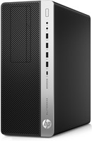 HP EliteDesk 800 G3 Tower 3.4GHz i5-7500 Toren Zwart, Zilver PC-2