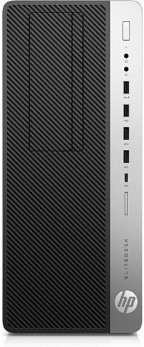 HP EliteDesk 800 G3 Tower 3.4GHz i5-7500 Toren Zwart, Zilver PC-1