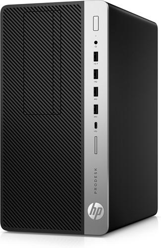 HP ProDesk 600 G3 3.2GHz i5-6500 Desktop Zwart, Zilver PC-3