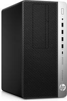HP ProDesk 600 G3 3.2GHz i5-6500 Desktop Zwart, Zilver PC-2