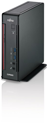 Fujitsu ESPRIMO Q556/2 3.5GHz G4560 Mini PC Zwart Mini PC