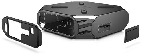 HP Z2 mini VESA arm/wandmontageoplossing-2