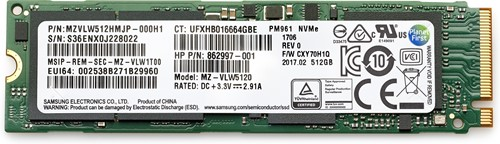 HP 512 GB TLC PCIe 3x4 NVMe M.2 Solid State Drive 512GB M.2 PCI Express