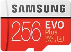 Samsung EVO Plus MB-MC256G 256GB MicroSDXC UHS-I Klasse 10 flashgeheugen