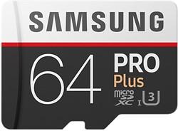 Samsung PRO Plus MB-MD64G 64GB MicroSDXC UHS-I Klasse 10 flashgeheugen