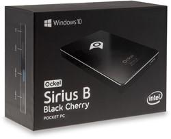 Ockel Sirius B Black Cherry mini PC 64GB zonder Windows 10
