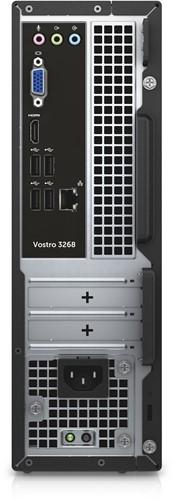 DELL Vostro 3268 3.9GHz i3-7100 Kleine vormfactor Zwart, Zilver PC-2