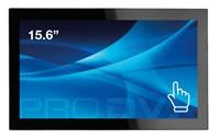 "ProDVX TMP-15 15.6"" 1920 x 1080Pixels Multi-touch Zwart touch screen-monitor"