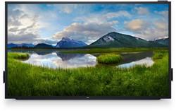 "DELL C8618QT 85.6"" 3840 x 2160Pixels Multi-touch Multi-gebruiker Zwart, Zilver touch screen-monitor"