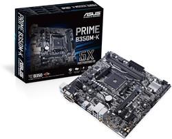ASUS B350M-K AMD B350 Socket AM4 Micro ATX moederbord
