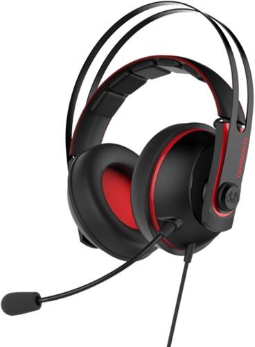 ASUS Cerberus V2 Stereofonisch Hoofdband Zwart, Rood hoofdtelefoon