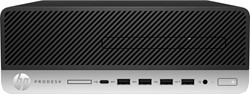 HP ProDesk 600 G3 3.4GHz i5-7500 SFF Zwart, Zilver PC