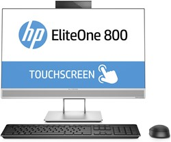 "HP EliteOne 800 G3 3.4GHz i5-7500 23.8"" 1920 x 1080Pixels Touchscreen Zilver Alles-in-één-pc"