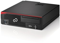 Fujitsu ESPRIMO D957 3.4GHz i5-7500 Desktop Zwart, Rood PC